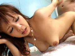 Rin Yuuki hammered deeply in her rear – hot anal