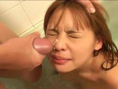 Small tit Asian hairy vulva felt out!