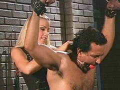 Hot BDSM Blonde Dom