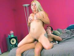 Hairy MILF Gets Rammed