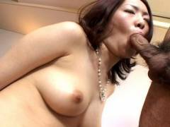 Horny hairy bearded lady Japanese boneed hard!